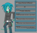 Aqua the Ocelot ID by AquaGemStone