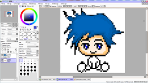 Failed pixel icon by Mainecare