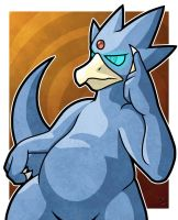 Golduck by WhyDesignStudios
