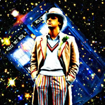 Fifth Doctor by LowBassGuy