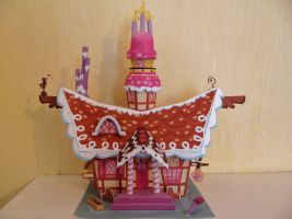 My Little Pony - Sugar Cube Corner Papercraft by x0xChelseax0x