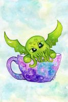 Teacup Cthulhu by Starrydance