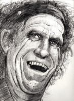 Keith Richards by opteryx