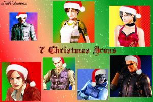 7 RE Holiday icons (.zip + link) by xJillValentinex