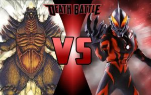 DEATH BATTLE: SpaceGodzilla vs Ultraman Belial by G-Odzilla