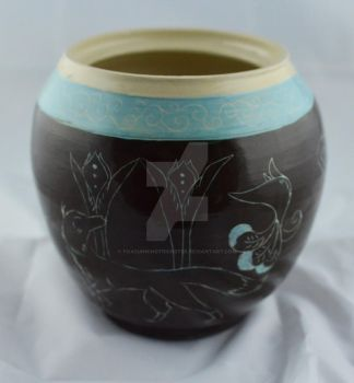 Big Etched pot side 1 by FoxCunningTrickster