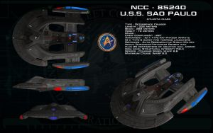 Atlantia class ortho - USS Sao Paulo by unusualsuspex