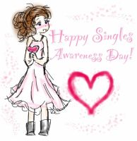 Happy Single Awareness Day by AngelicReaper21