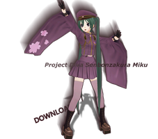 .:MMD:. Project Diva Senbonzakura Miku [DOWNLOAD] by Len11999