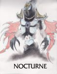 League of Legends - Nocturne Sketch Colored by RedCaliburn