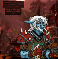 Stays in Orgrimmar by kateppi