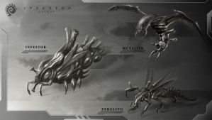 Alien Starcraft sketch by Iggy-design