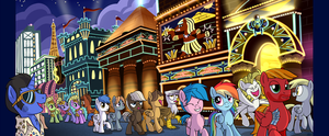 The Strip by SorcerusHorserus