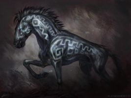 Dark Steed by Exileden