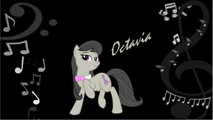 Octavia 'Notes' wallpaper by Djbrony923