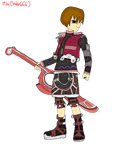Chuggaaconroy as Shulk (Colored) by Shake666Productions