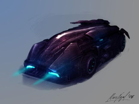 batmobile by marcnail