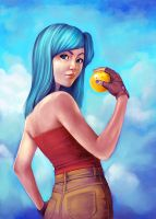 Bulma Love by cry-ky