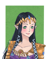 Commission DeadlyZelda by ShaniNeko