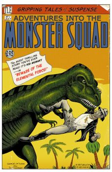Monster Squad Cover Number 1 by Picturecar