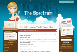 New Blog: The Spectrum by arwenita