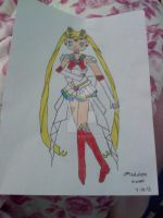 Super Sailor Moon Drawing 2 by Maw1227