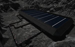 Space Engineers - Solar Power Station by Shroomworks