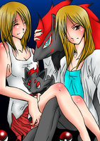 request by AngelSwordsGirl by Kurama-Luv