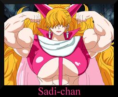 One Muscular Piece: Sadi-chan by MangaGirlsxMuscle