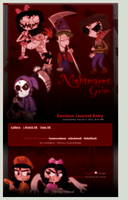GRIM and Nightmare Skin by DBluver
