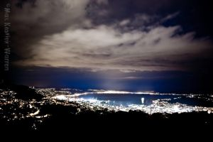 Wellington by Night by MaxK-W