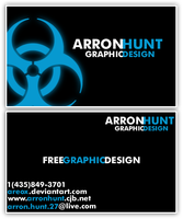deviantID - Business Cards by AreoX