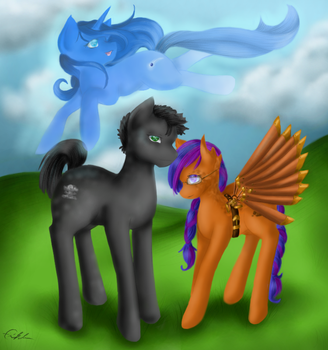 Group Commission for Jon by SpectralPony