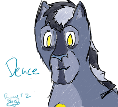Meet Deuce! by RawrzTLK