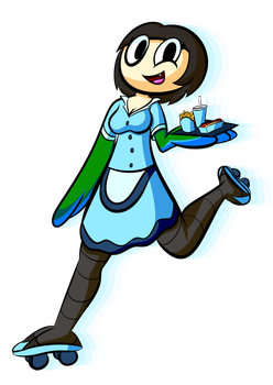Carhop Cerylia by cheesycoke