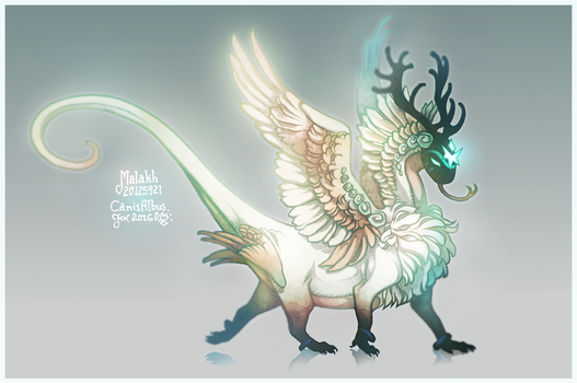 Malakh by CanisAlbus