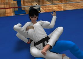 Request: Judo fight 2 by Sorr0wfullWhit3Raven