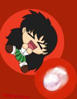 Kagome Chibi--cleaned+colored by DaisyAnimeLuvr