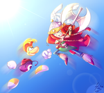 Rayman and Barbara by Shinju-Fury
