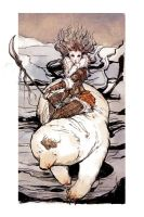 chow 89 Winter Princess by bluefooted