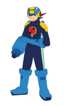 MMBNA: Megaman old version by MrTwinklehead
