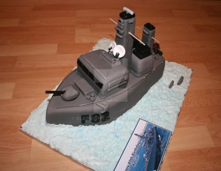 HMS Somerset Cake! by elainewhy