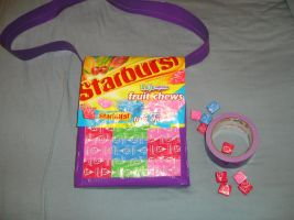 Starburst and duct tape purse by ninerpie