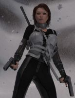 Action Girl Antarctica minor post by argel1200