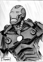 Sketch Cards: Iron Man by Shono