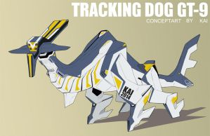 Tracking Dog Gt-9 by kaianimator