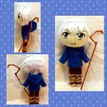Con Plush 5 - Jack Frost Plushie by mihijime
