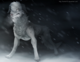 Quiet like the snow by Mortel163