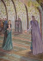 Nellas before Thingol by Murrauddin