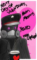Romantically Apocalyptic Valentines - Zee Captain by MegLynn92